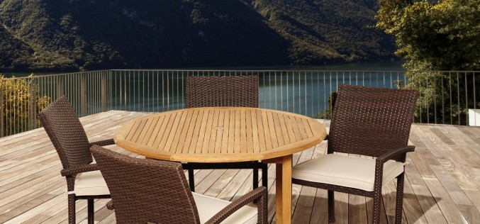 Amazonia Teak Colorado 5-Piece Teak/Wicker Patio Dining Set Review