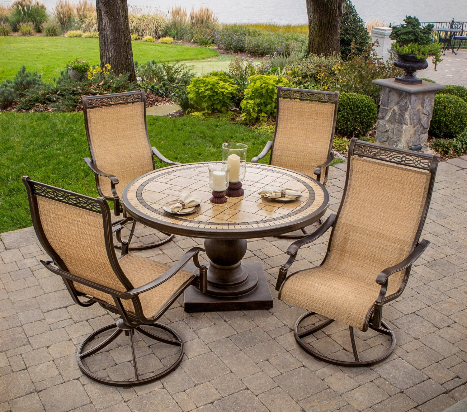 Hanover Monaco 5 Piece Patio Dining Set Review Best