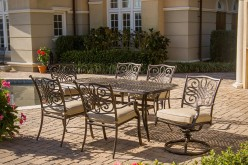 Hanover Traditions 7-Piece Deep-Cushioned Outdoor Dining Set Review
