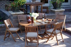 Outdoor Interiors S10666G 7-Piece Patio Dining Set Review