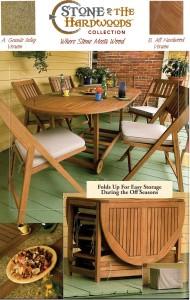 Outdoor Interiors S10666G 7-Piece Patio Dining Set