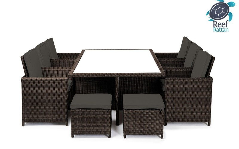 Reef Rattan Bahama  Cube Patio Dining Set Review  Best Patio