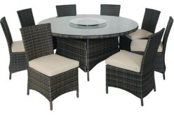 Kontiki 9-Piece Round Dining Set Review