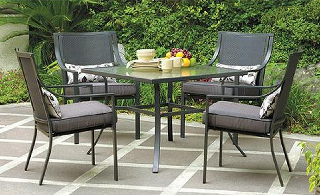 Gramercy Home 5 Piece Patio Dining Table Set Review | Best Patio Dining Sets