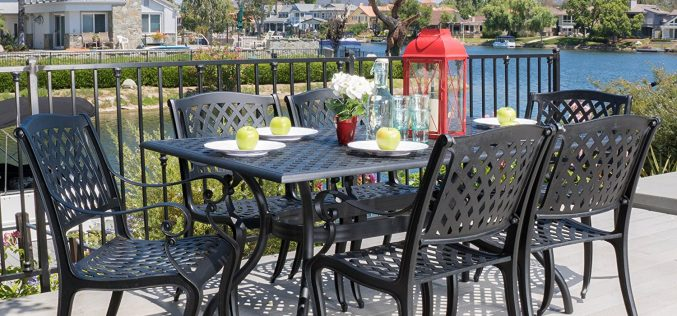 Marietta Outdoor 7-Piece Cast Aluminum Dining Set Review